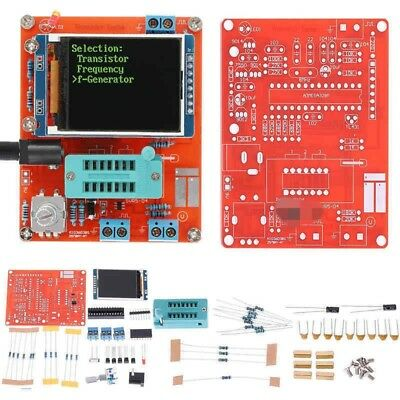 Diy Gm328 Transistor Tester Diode Cap Esr Lcr Freq Meter Pwm Signal Generator