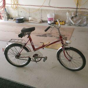 nice FOLDING bike ,  rare