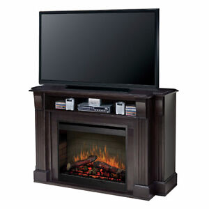 Langley Electric Fireplace (with storage)