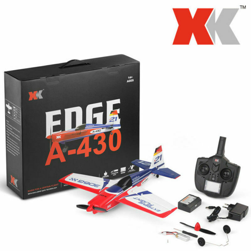 XK A430 2.4G 5CH Brushless Motor 3D 6G System EPS Wingspan RC Airplane - Mode 2