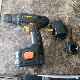 Challenge 18v cordless drill/driver plus charger