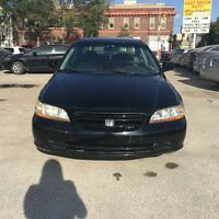 2001 HONDA ACCORD WITH FRESH SAFETY AND MINT CONDITION