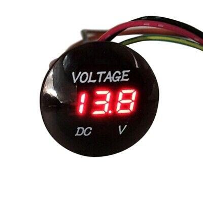 Dc 12v-24v Voltage Led Digital Display Panel Volt Meter Voltmeter Car Motorcycle