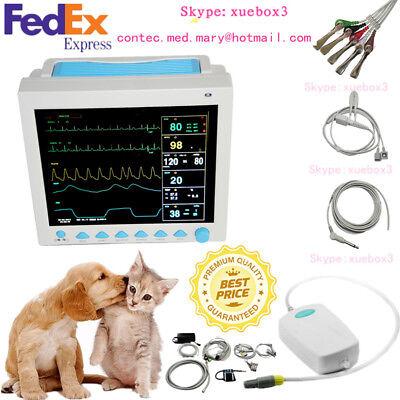 Veterinary Icu Capnograph Etco2 Vital Sign Patient Monitor 7 Parameter Contec Us