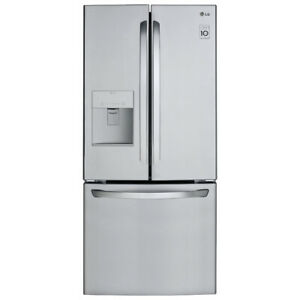 "LG LFD22786ST 30"" French Door Refrigerator With Exterior Water D"