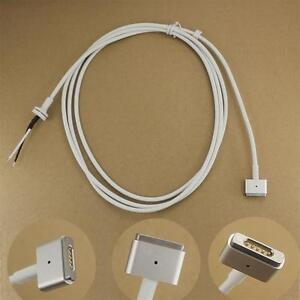 45W 60W 85W AC Power Adapter Repair DC Cord Cable T Tip For Macbook Magsafe2 Pro