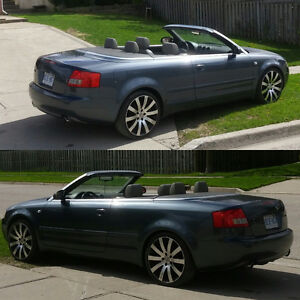 2004 Audi A4 1.8T Automatic Convertible. California Car!!