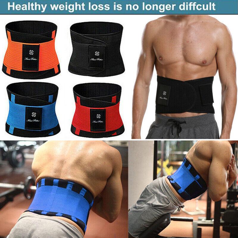 Sports Research Sweat Premium Waist Trimmer Men Sport Waist