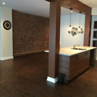 ST URBAIN / LAURIER* RENOVATED *STUNNING LOFT /APT* 1400 sf