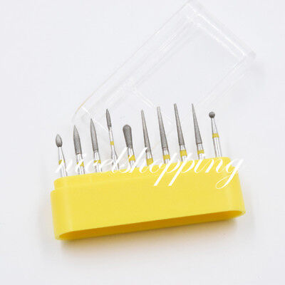 Dental Diamond Burs Fg-105 For Teeth Porcelain Ceramics Composite Polishing