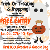 Trick-Or-Treating & Shopping Event