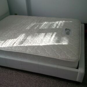 bed frame and mattress to sell