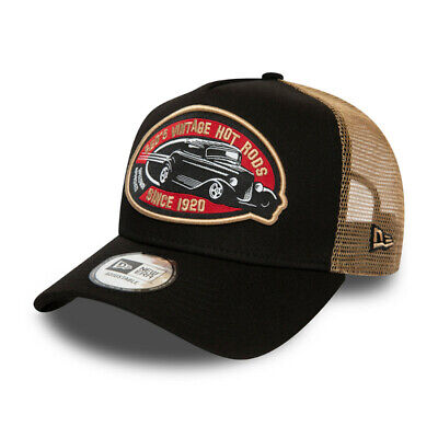 NEW ERA AMERICAN HOT ROD CAR TRUCKER CAP.A FRAME ADJUSTABLE BASEBALL HAT S20 20