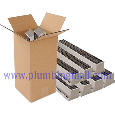 Drain System - Tuf-Tite Trench Drain Tuf-Tite TR1 Drain System w/grate 3ft. Case Qty - 9 Pieces
