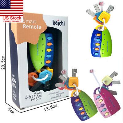 US Car Key Toy Remote Control Key Educational Toy Car Key for Kids Baby Toddler](Toy Car For Kids)