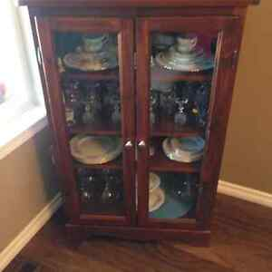 Solid wood lawyer's bookcase