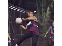 Clapham South Back to Netball Session