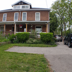 Rare waterfront property in town close to downtown Galt