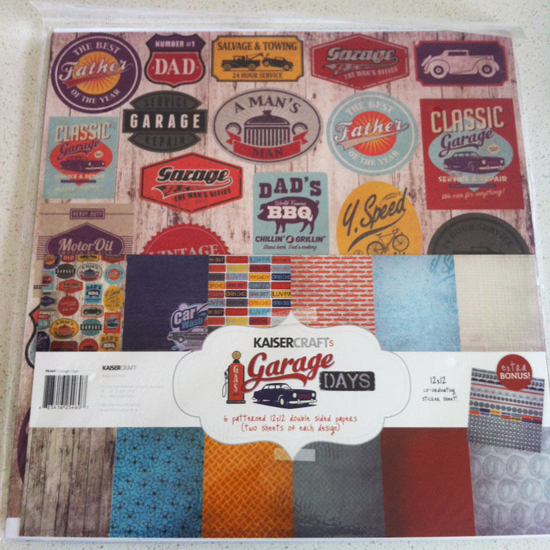 Kaisercraft Paper Pack Bonus Sticker Sheet Christmas Carol Secret garden - Garage Days
