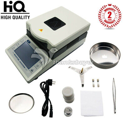 Electric Moisture Meter Rapid Analyzer Grain Automatic Sensor Halogen Tester Ssr