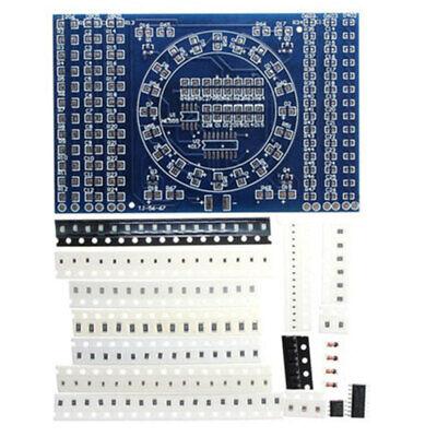 Smt Smd Component Welding Practice Pcb Board Soldering Plate Diy Suite Kit Et