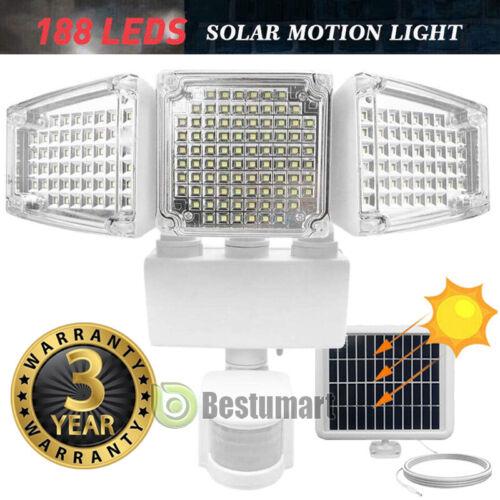 16000LM LED Solar Motion Sensor Light Flood Indoor Outdoor G