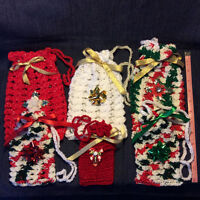 Crocheted Gift Bags For Sale