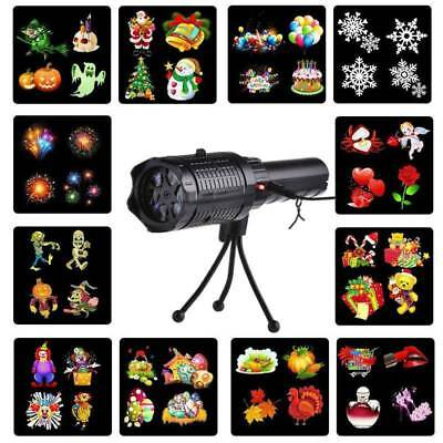 Christmas Projector Light Moving LED Laser Landscape Outdoor Halloween Xmas Lamp](Outdoor Halloween Projector)