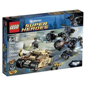 LEGO BATMAN 76001 The Bat vs. Bane: Tumbler Chase NEW