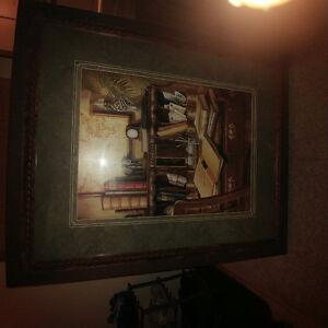 Art print and nice frame