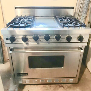 Viking Ultraline Professional dual fuel Range