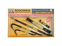 Roughneck ROU64965 Multi-Purpose Bar Set - 5 Piece - Breaker set / Crowbars
