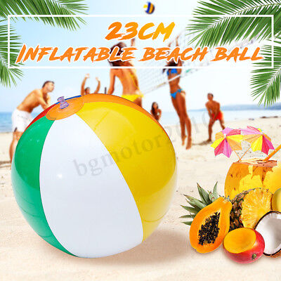 9'' Inch Inflatable Swimming Beach Ball Colorful Blow Traditional Party Game Toy for sale  Shipping to Canada