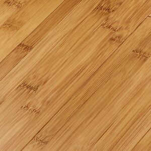 Solid bamboo (NOT laminate) flooring