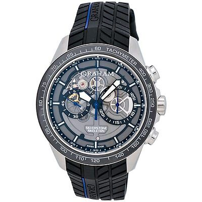 Graham Silverstone RS Skeleton Chronograph Men's Watch - 2STAC3.B01A