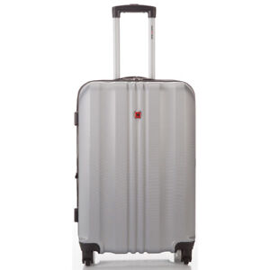 New Swiss Gear hard-shell carry on suitcase luggage