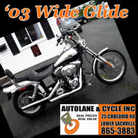 2003 Harley Davidson Dyna Wide Glide POWERFUL bike