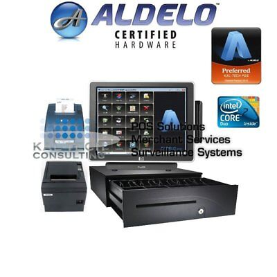 Aldelo Pro Hp Chinese Restaurant All-in-one Complete Pos System Bundle Ssd Hdd