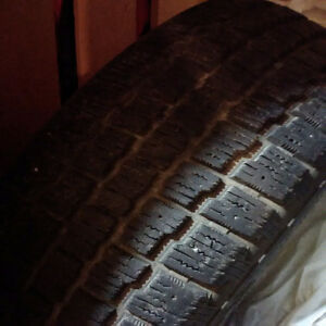 1 Winter Tire and 1 All season Tire, P195/60R15 $30 each