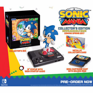Sonic Mania Collector's edition Switch