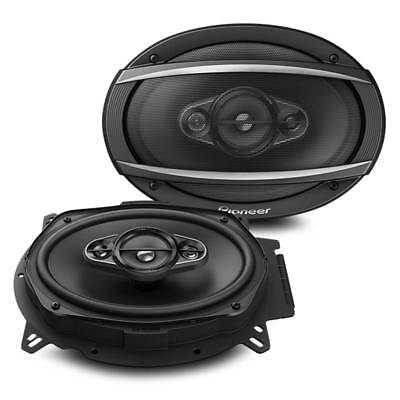"New Pioneer TS-A6960F 450 Watts 6"" x 9"" 4-Way Coaxial Car Audio Speakers 6x9"", usado segunda mano  Embacar hacia Mexico"