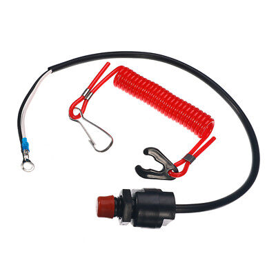 Outboard Cut off Boat Motor Emergency Kill Stop Switch&Safety Tether For Yamaha, used for sale  Shipping to United States