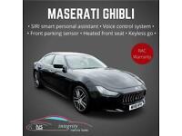 2018 Maserati Ghibli V6d 4dr Auto Saloon Diesel Automatic