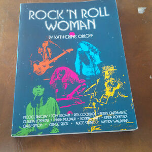 Roc 'N Roll Woman, Katherine Orloff, 1974 Kitchener / Waterloo Kitchener Area image 1