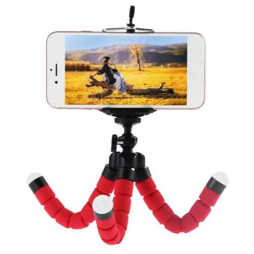 universal flexible octopus tripod stand phone holder