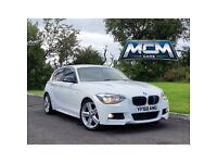 BMW 118D M SPORT ALPINE WHITE !