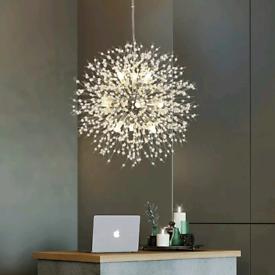 Lustre Crystal Lighting pendant lights Cristal nordicLamp LED Hanging