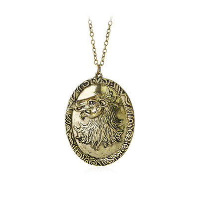 Game Of Thrones Necklace Cersei Lannister House Vintage Retro Lion Badge Pendant