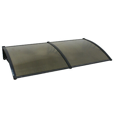 """2PCS 40*x 80"""" Canopy Window Awning  UV Rain Snow Protection Cover Door Hollow Awning & Canopy Parts"""