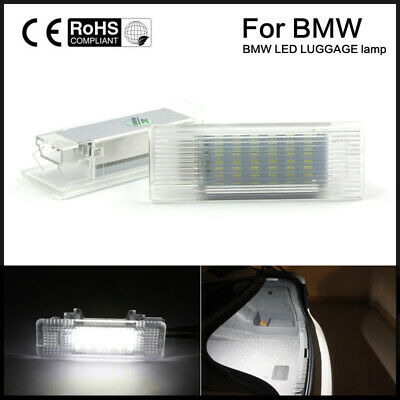 2X  High-intensity pure white 18 LED Luggage Lamp for BMW F10